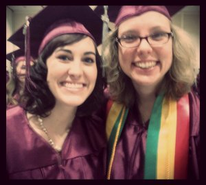 My sweet friend Leah & I! Often times we didn't think we'd make it - but we did and you will too!