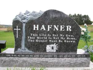 Memorial for my friend, Dave Hafner (1985-2013), whose life was changed by grace through faith, and who left an amazing legacy because of it.